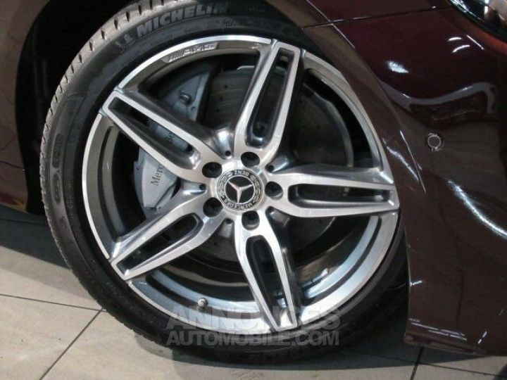 Mercedes Classe E 200 Pack AMG Rouge Rubelit M Occasion - 8