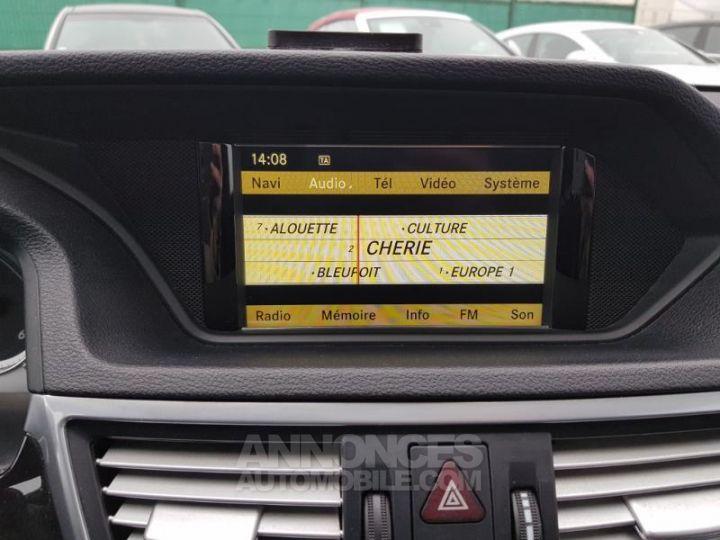 Mercedes Classe E 350 CDI Avantgarde Ex Gris Foncé Métal Occasion - 14