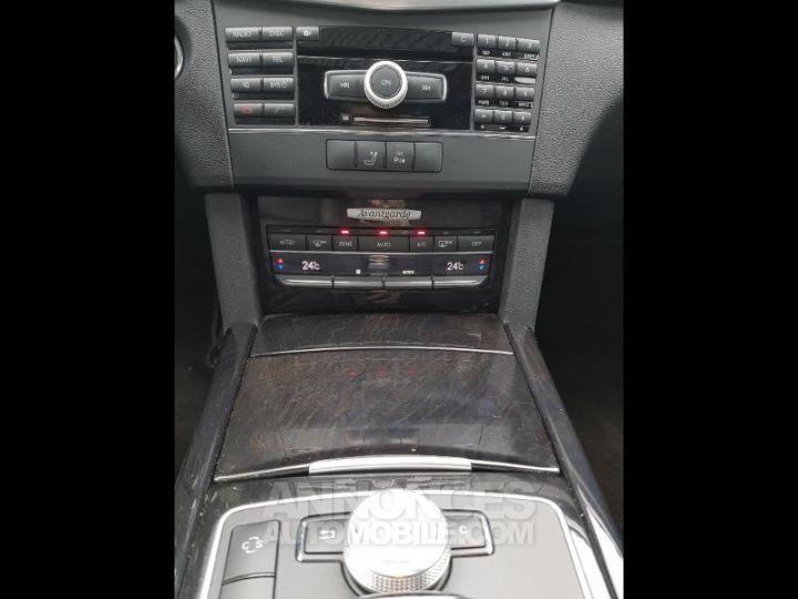 Mercedes Classe E 350 CDI Avantgarde Ex Gris Foncé Métal Occasion - 15