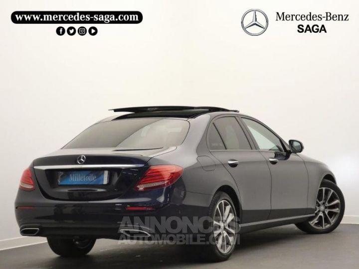 Mercedes Classe E 350 d 258ch Fascination 9G-Tronic Bleu Cavansite Occasion - 2
