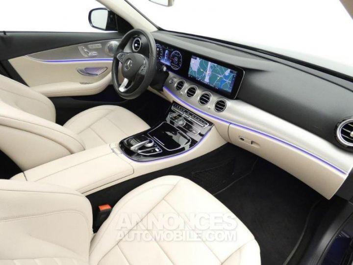 Mercedes Classe E 350 d 258ch Fascination 9G-Tronic Bleu Cavansite Occasion - 5
