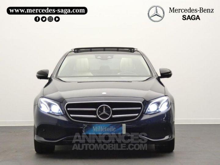 Mercedes Classe E 350 d 258ch Fascination 9G-Tronic Bleu Cavansite Occasion - 6