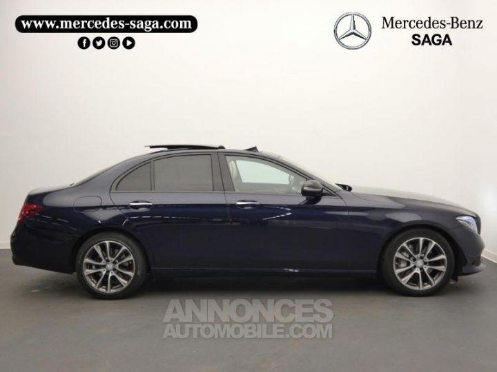Mercedes Classe E 350 d 258ch Fascination 9G-Tronic Bleu Cavansite Occasion - 7