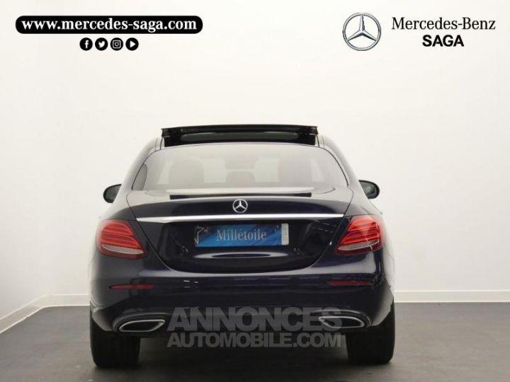 Mercedes Classe E 350 d 258ch Fascination 9G-Tronic Bleu Cavansite Occasion - 8