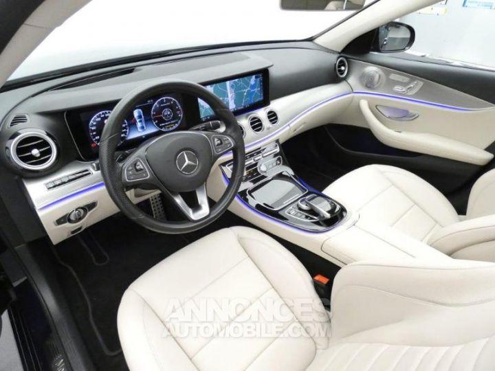 Mercedes Classe E 350 d 258ch Fascination 9G-Tronic Bleu Cavansite Occasion - 9