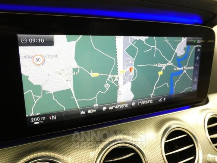 Mercedes Classe E 350 d 258ch Fascination 9G-Tronic Bleu Cavansite Occasion - 11