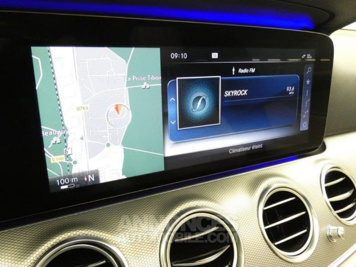 Mercedes Classe E 350 d 258ch Fascination 9G-Tronic Bleu Cavansite Occasion - 12