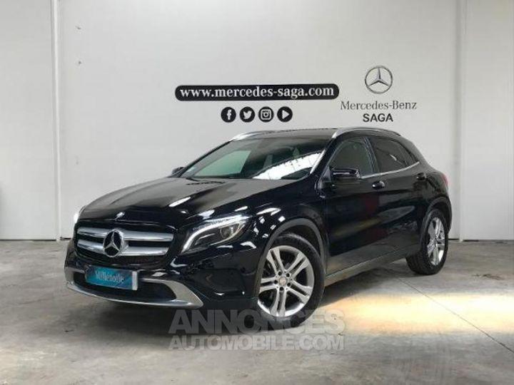 Mercedes Classe GLA 200 CDI Sensation 7G-DCT NOIR Occasion - 1