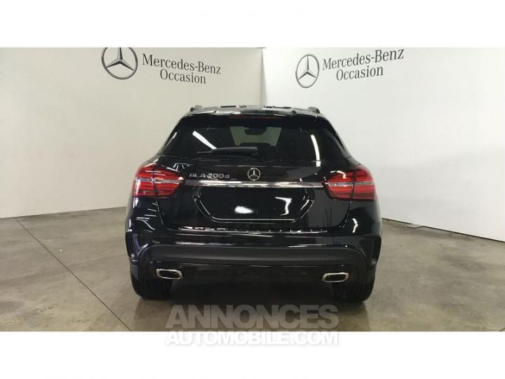 Mercedes Classe GLA 200 d 136ch Starlight Edition 7G-DCT Euro6c Noir Cosmos Occasion - 4
