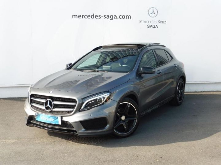 mercedes classe gla 200 d fascination gris montagne