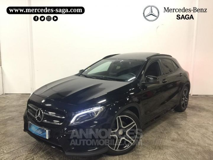 Mercedes Classe GLA 220 CDI Fascination 4Matic 7G-DCT NOIR COSMOS Occasion - 1