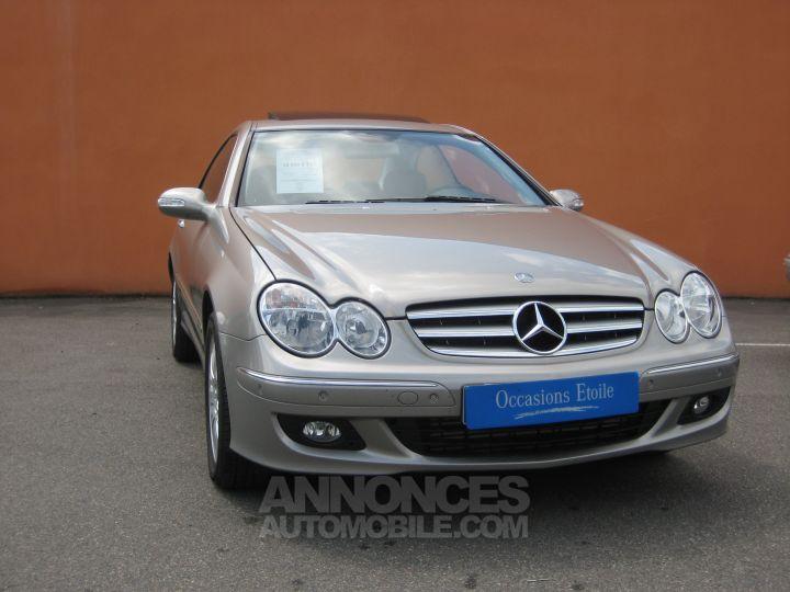 Mercedes CLK ELEGANCE 220 CDI BVA Beige ARGENT CUBANITE Occasion - 1