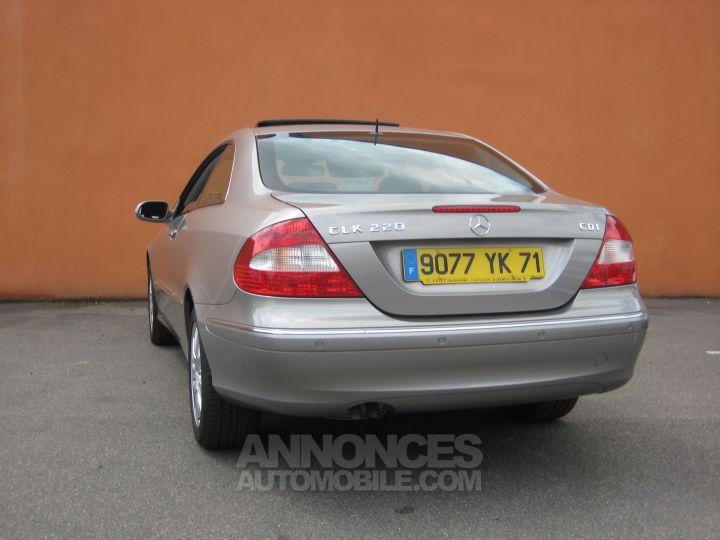 Mercedes CLK ELEGANCE 220 CDI BVA Beige ARGENT CUBANITE Occasion - 2