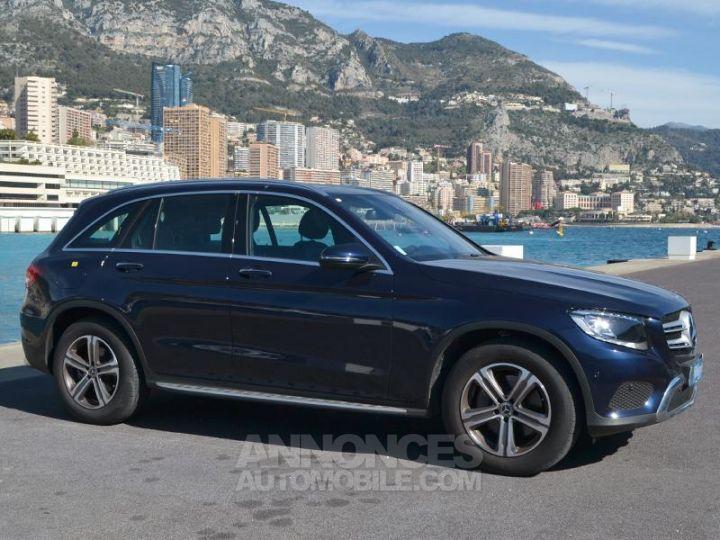 Mercedes GLC 220 d 170ch Executive 4Matic 9G-Tronic Bleu Cavanite Occasion - 3