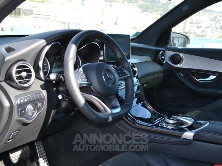 Mercedes GLC 220 d 170ch Executive 4Matic 9G-Tronic Bleu Cavanite Occasion - 4