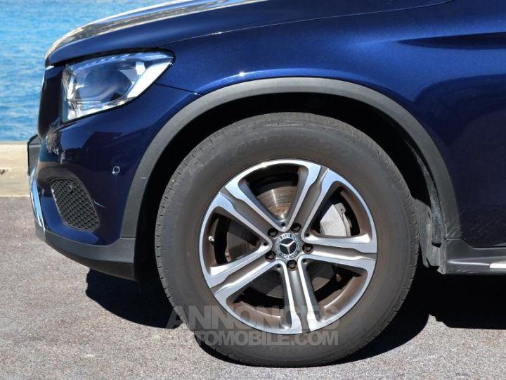 Mercedes GLC 220 d 170ch Executive 4Matic 9G-Tronic Bleu Cavanite Occasion - 7