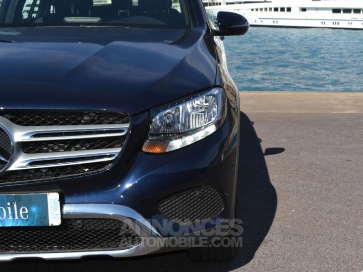 Mercedes GLC 220 d 170ch Executive 4Matic 9G-Tronic Bleu Cavanite Occasion - 20