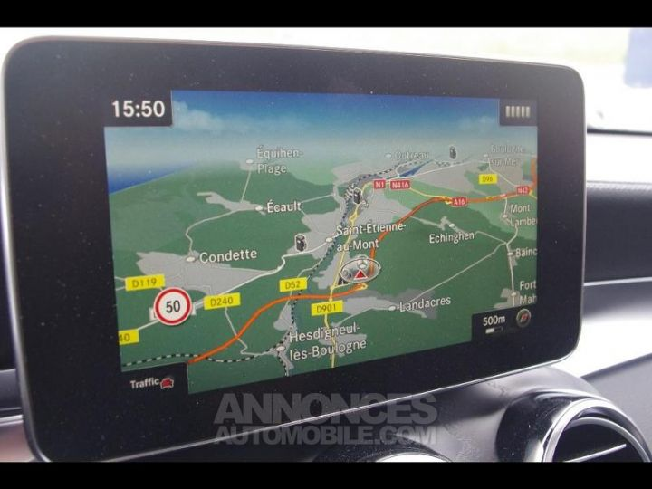 Mercedes GLC 220 d 170ch Sportline 4Matic 9G-Tronic GRIS SELENITE Occasion - 13