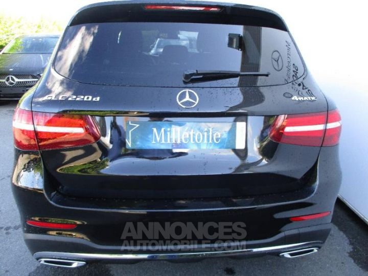 Mercedes GLC 220 d 170ch Sportline 4Matic 9G-Tronic Noir obsidienne Occasion - 16