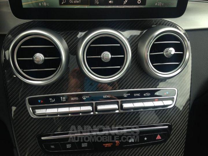 Mercedes GLC 220 d 194ch AMG Line 4Matic Launch Edition 9G-Tronic Gris Graphite métallisé Occasion - 19