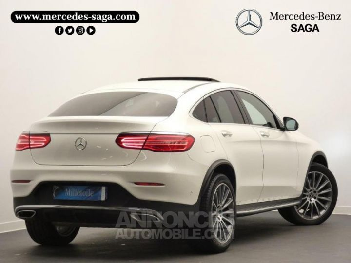 Mercedes GLC 250 211ch Sportline 4Matic 9G-Tronic Blanc Diamant Designo Occasion - 2