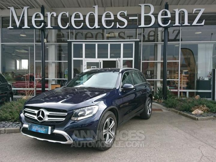 Mercedes GLC 250 d 204ch Executive 4Matic 9G-Tronic BLEU CAVANSITE Occasion - 1