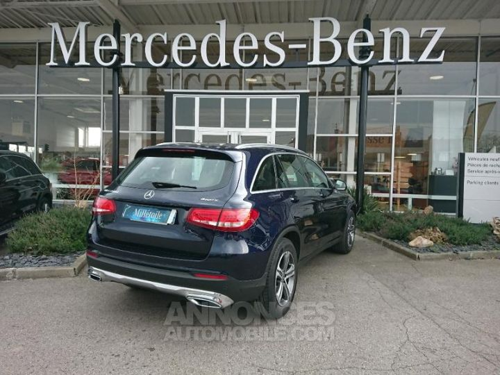 Mercedes GLC 250 d 204ch Executive 4Matic 9G-Tronic BLEU CAVANSITE Occasion - 2