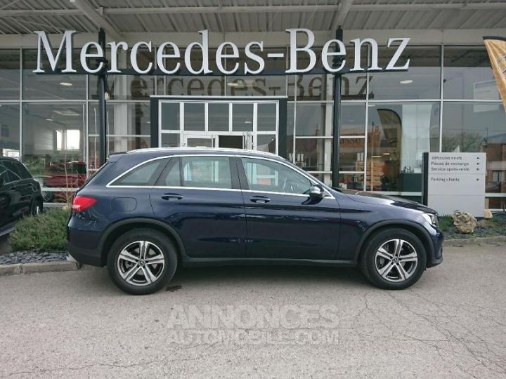 Mercedes GLC 250 d 204ch Executive 4Matic 9G-Tronic BLEU CAVANSITE Occasion - 4