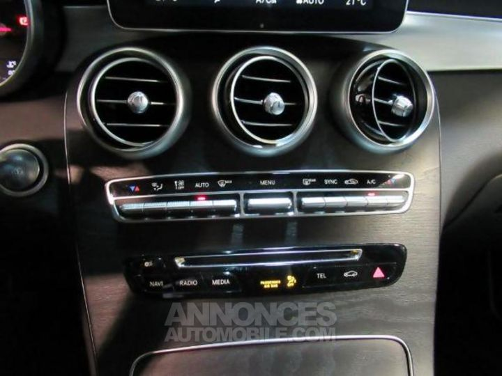 Mercedes GLC 250 d 204ch Fascination 4Matic 9G-Tronic Noir Métal Occasion - 11