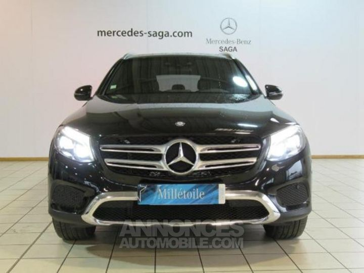 Mercedes GLC 250 d 204ch Fascination 4Matic 9G-Tronic Noir Métal Occasion - 16