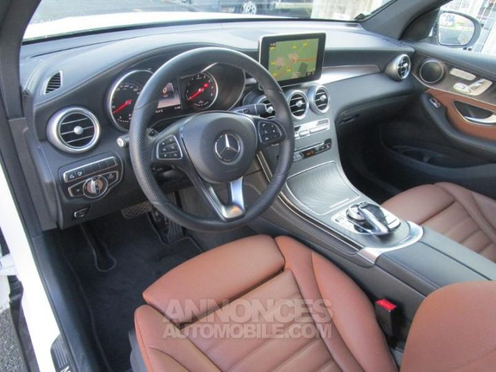 Mercedes GLC 350 e 211+116ch Fascination 4Matic 7G-Tronic plus BLANC POLAIRE Occasion - 16