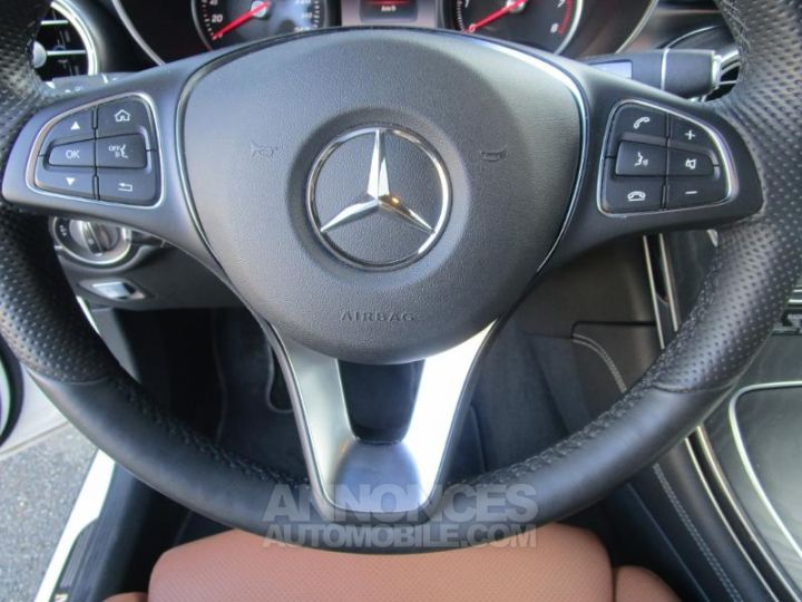 Mercedes GLC 350 e 211+116ch Fascination 4Matic 7G-Tronic plus BLANC POLAIRE Occasion - 19