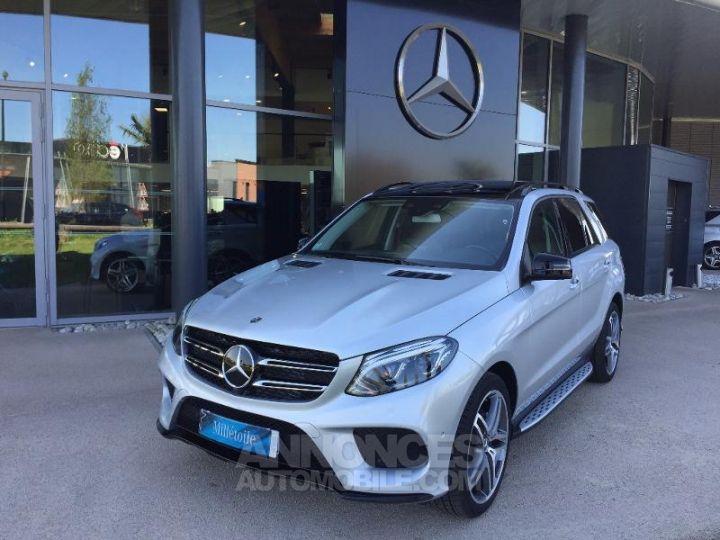 Mercedes GLE 350 d 258ch Fascination 4Matic 9G-Tronic Argent iridium métallisé Occasion - 1