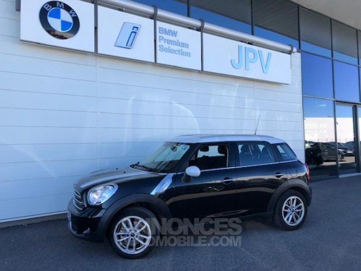 Mini Countryman Cooper D 112ch Chili Absolute Black metallise Occasion - 1
