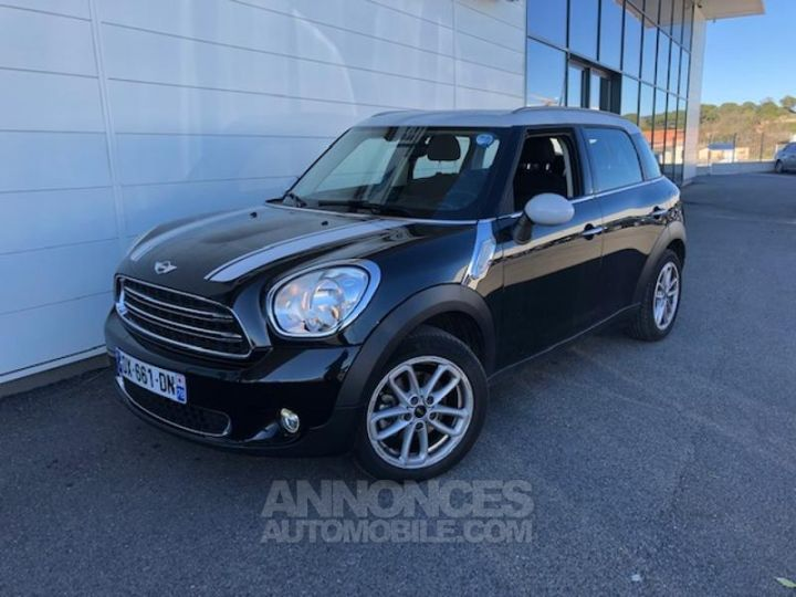 Mini Countryman Cooper D 112ch Chili Absolute Black metallise Occasion - 4