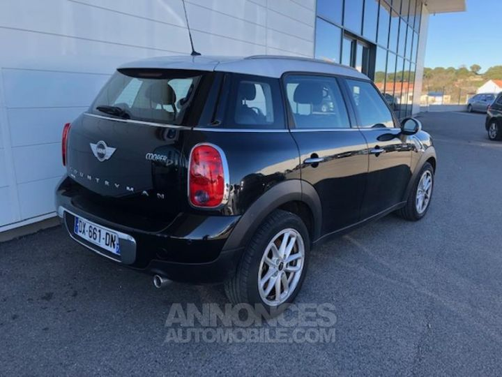 Mini Countryman Cooper D 112ch Chili Absolute Black metallise Occasion - 5