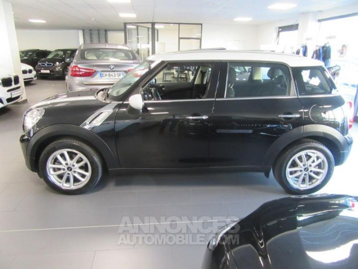 Mini Countryman Cooper D 112ch Chili Absolute Black metallise Occasion - 16