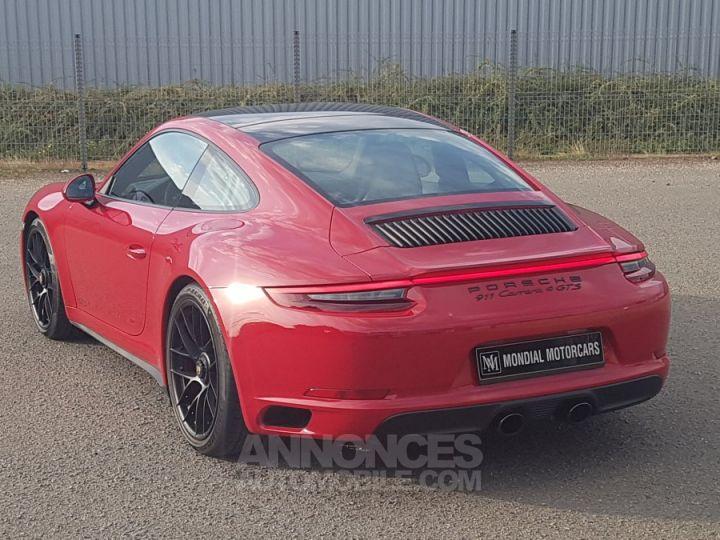 Porsche 991 CARRERA 4 GTS 450 CH PDK 1ERE MAIN  ROUGE CARMIN Occasion - 3