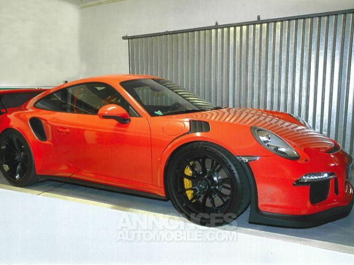 Porsche 991 GT3 RS Orange Occasion - 1