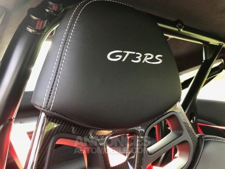 Porsche 991 GT3 RS  Argent GT Occasion - 9