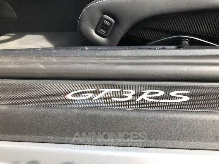 Porsche 991 GT3 RS  Argent GT Occasion - 11