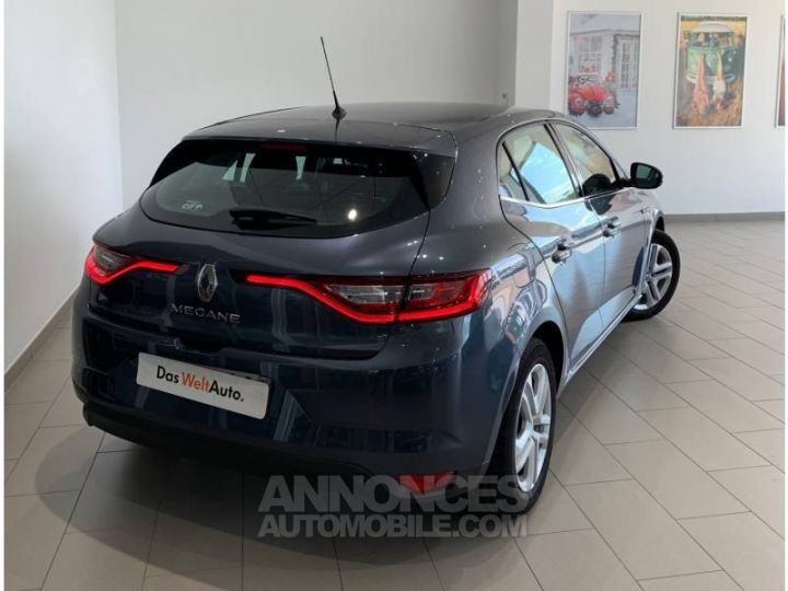 Renault MEGANE Mégane IV BERLINE BUSINESS dCi 110 Energy gris foncé métallisé Occasion - 3