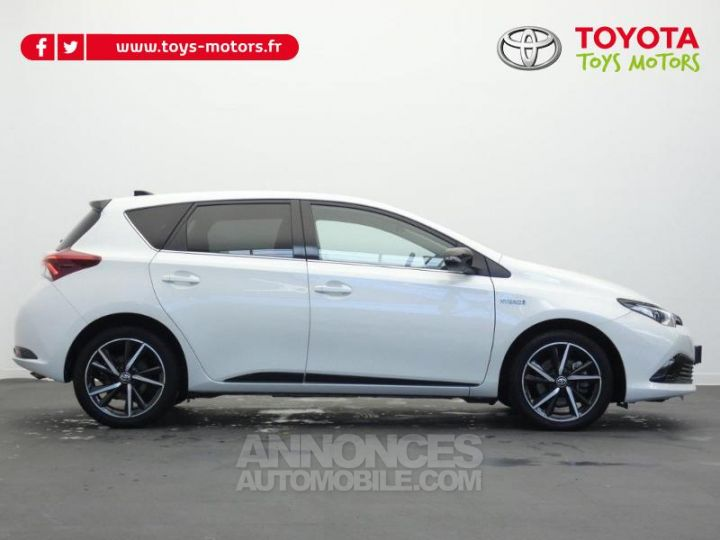 Toyota AURIS HSD 136h Collection BI TON BLANC NACRE   NOIR Occasion - 2