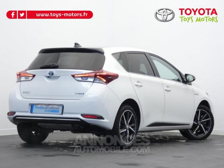 Toyota AURIS HSD 136h Collection BI TON BLANC NACRE   NOIR Occasion - 3