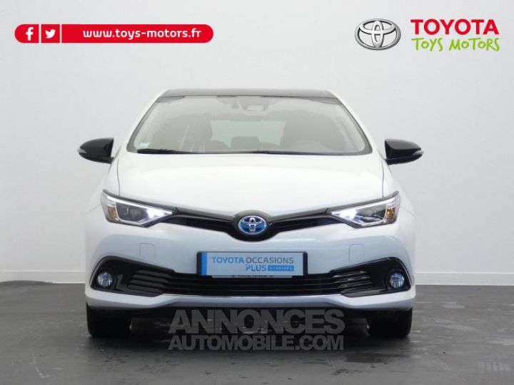 Toyota AURIS HSD 136h Collection BI TON BLANC NACRE   NOIR Occasion - 10
