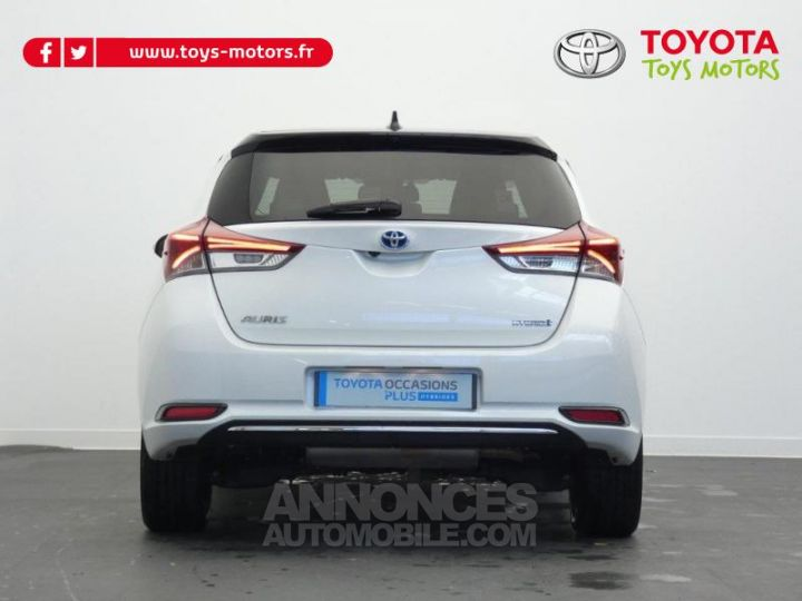 Toyota AURIS HSD 136h Collection BI TON BLANC NACRE   NOIR Occasion - 11