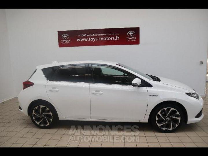 Toyota AURIS HSD 136h Design BLANC PUR Occasion - 3