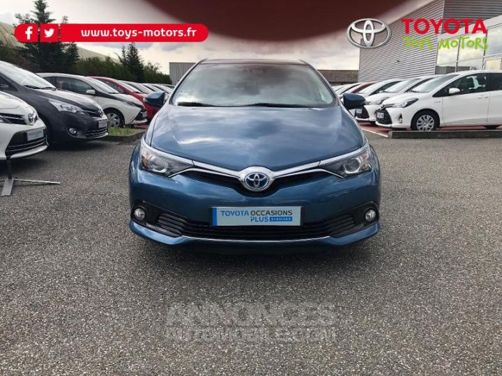 Toyota AURIS HSD 136h Design BLEU DENIM Occasion - 1