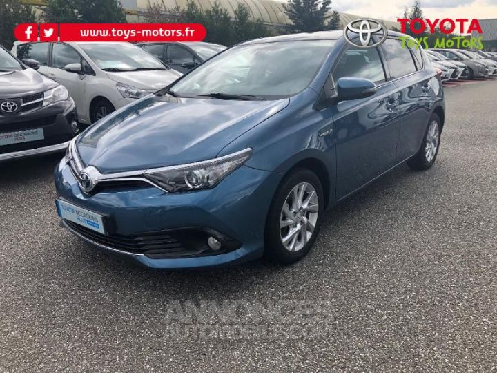 Toyota AURIS HSD 136h Design BLEU DENIM Occasion - 2