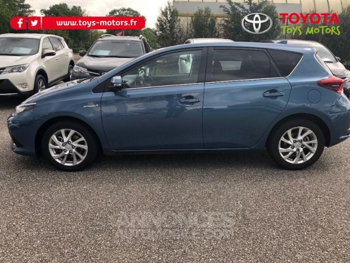 Toyota AURIS HSD 136h Design BLEU DENIM Occasion - 3
